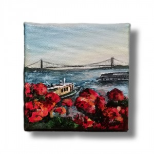 Istanbul with flowers